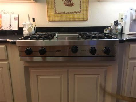 viking stainless  gas cooktop  sale  dallas texas classified americanlistedcom