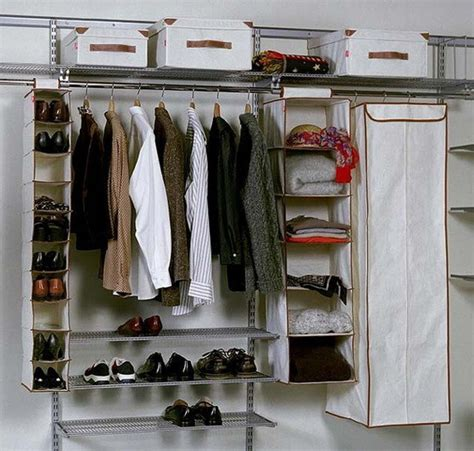 wardrobe closet storage ideas  ways  organize