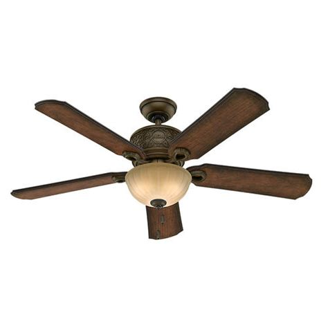 Menards Outdoor Ceiling Fan With Light by Oakmont 54 Quot Regal Bronze Ceiling Fan With Light At