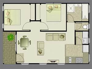 2 flat bedroom house floor plans for 2 bedroom house 2 With plan for two bedroom flat