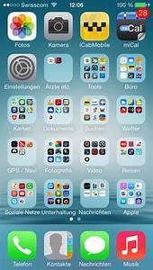 Zeigt euren iPhone 5S Homescreen