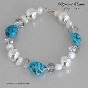 bracelet fantaisie creation bijoux fantaisie turquoise With création de bijoux
