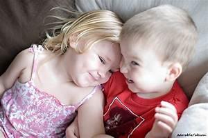kid, couple, cute, love, adorable » AdorableTab.com