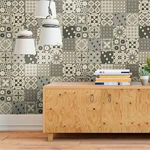 Stickers Carreaux De Ciment Cuisine : 30 stickers carreaux de ciment azulejos maeva cuisine ~ Melissatoandfro.com Idées de Décoration