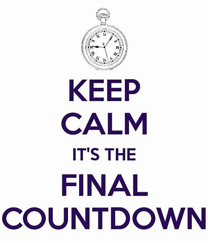 Countdown Final Keep Calm Quotes Its Clipart