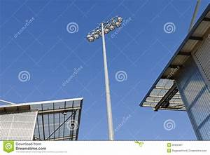 Stadium floodlights royalty free stock photography image
