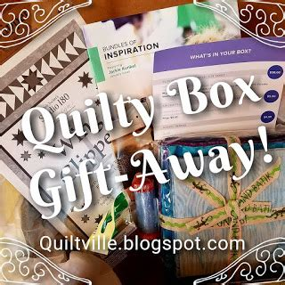 quiltvilles quips snips drawing january quilty box winners
