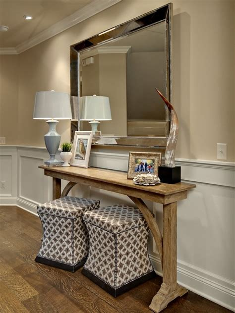 Accent Mirrors Entryway - the bold and the beautiful the usefulness of console