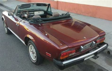 Fiat Spider Parts by 1980 Fiat Spider 2000 Restoration Or Parts For Sale