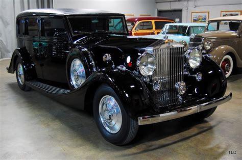 1937 Rolls Royce by 1937 Rolls Royce Phantom Iii Limousine