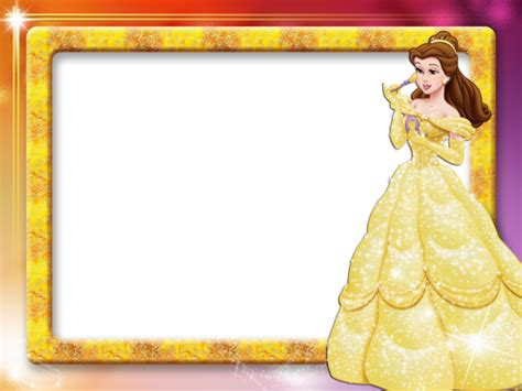 cute princess kids transparent photo frame gallery