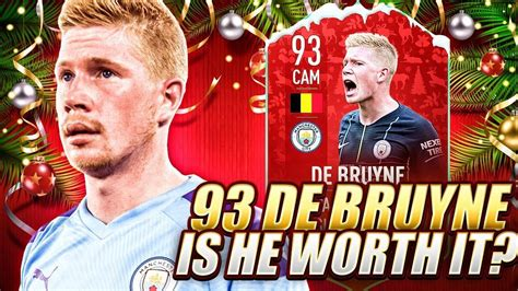 YOU NEED TO GET THIS CARD!! 93 FUTMAS KEVIN DE BRUYNE ...