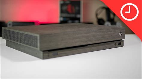 Toast For Xbox One X Is A Unique Real Wood Skin