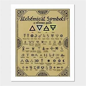 Alchemical Symbols Reference Chart - Alchemist