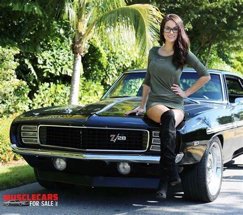 1423 Besten Classic Muscle Cars And Girls Bilder Auf