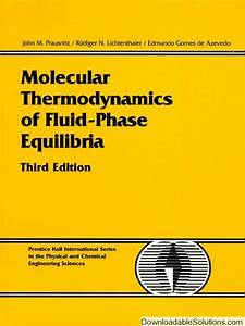 Molecular Thermodynamics Of Fluid