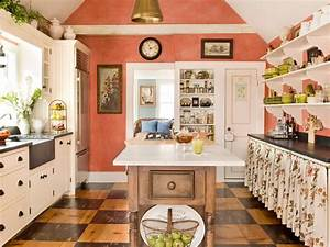 best colors to paint a kitchen pictures ideas from hgtv With kitchen colors with white cabinets with red and cream wall art