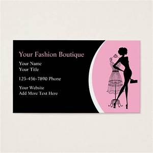 Clothing boutique business cards zazzlecom for Boutique business card