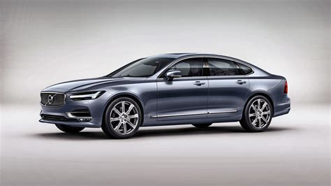 2017 Volvo S90 4k Wallpaper