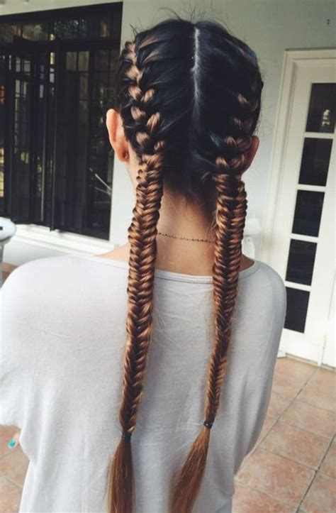 create french braided pigtails  tips styles