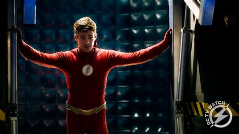 'the Flash' Grant Gustin Benched