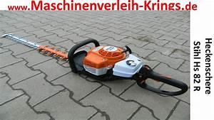 Heckenschere Von Stihl : heckenschere stihl hs 82 r www koeln maschinenverleih video erkl rung einweisung ~ Orissabook.com Haus und Dekorationen