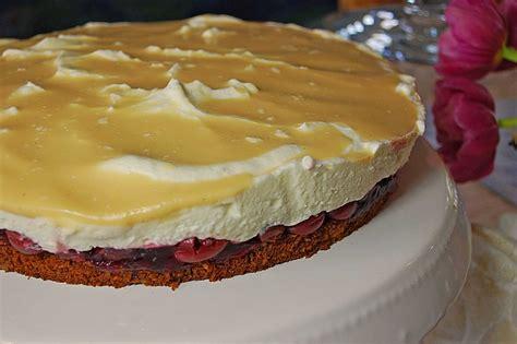 kirsch sahne eierlikör kirsch sahne torte rezept mit bild