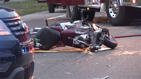 Motorcyclist Dies From Injuries After Wednesday Accident