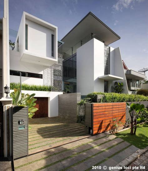 home design  architecture pinisi house jakarta indonesia