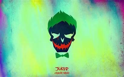 Suicide Squad Wallpapers Skull Joker Cool Minimalist