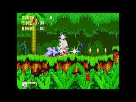 sonic  hedgehog   knuckles hyper sonic gameplay
