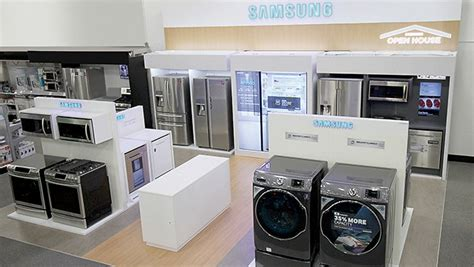 samsung open house at best buy stores displays cool innovative appliances herestohome ad