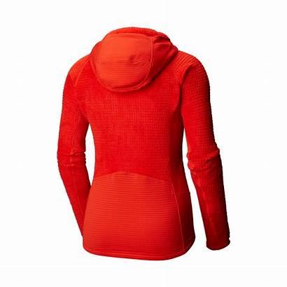 Monkey Grid Woman Jacket Hardwear Mountain Hooded