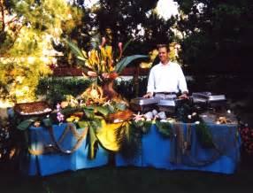 Back Yard Hawaiian Luau Party