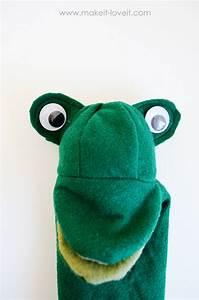 Make Felt Animal Puppets