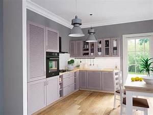 Küchenzeile L Form : ts m bel k chenzeile alma in l form holzfarbe grey neu ~ Bigdaddyawards.com Haus und Dekorationen