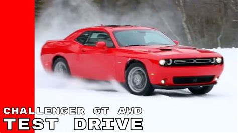 2017 Dodge Challenger Gt All Wheel Drive Awd Review, Test
