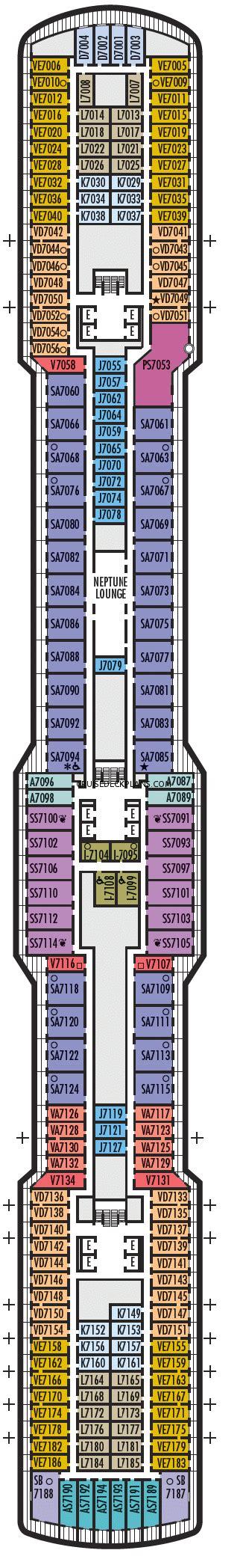 3 bedroom cabin floor plans nieuw statendam deck plans diagrams pictures