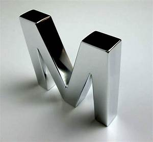 metal letters With metal letters