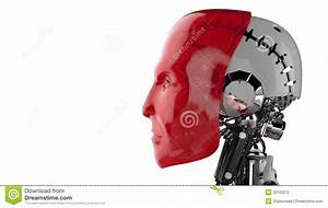 Robot Profile Stock Photography - Image: 32102272