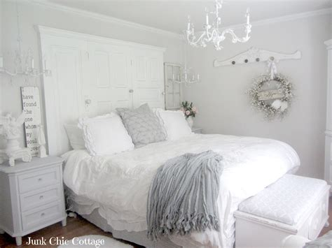white and silver bedroom junk chic cottage second time is the charm 1249