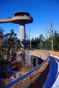 Clingmans Dome Great Smoky Mountains Observation Tower