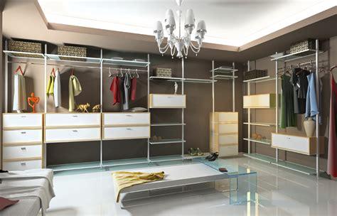 furniture fancy modern walk in closet decoration using