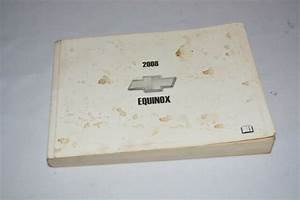 2008 Chevrolet Equinox Owners Manual Book