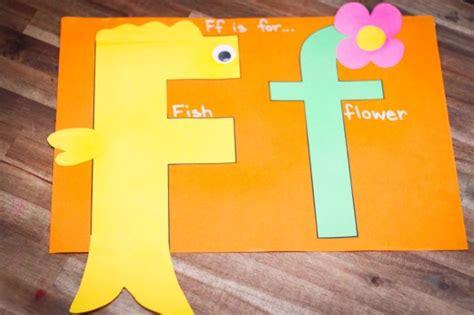 Preschool Letter F