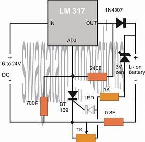 Diy Lithium Ion Battery Charger Circuit  Usb Li Ion Charger Circuits Diy  Mobiles Tablets Mobile