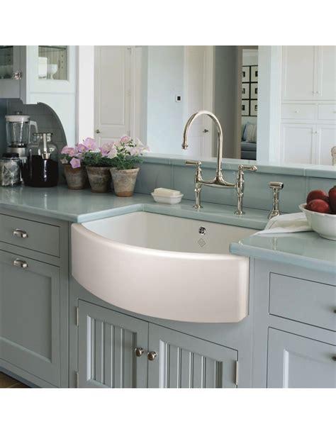 belfast sink in modern kitchen shaws waterside belfast kitchen sink apron front white 7628