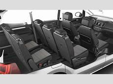 Dimensioni Seat Alhambra 2015, bagagliaio e interni