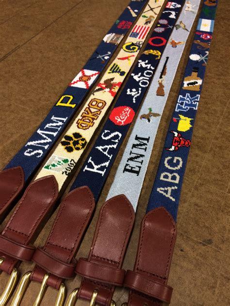 custom needlepoint belts needlepoint kits  canvas designs