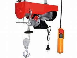 Palan Electrique 220v : treuil palan electrique levage a cable 220v 500 1000kg ~ Edinachiropracticcenter.com Idées de Décoration